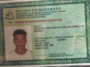 Carteira com documentos perdido por Carlos