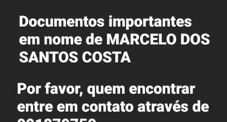 Documentos perdidos -> Marcelo Dos Santos Costa