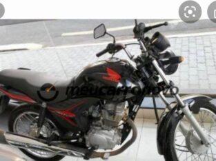 Moto furtado em frente HMI.
