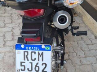 Placa de moto perdida