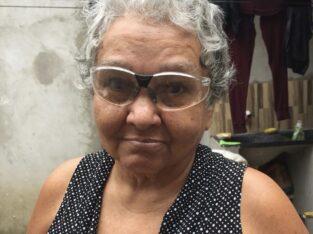 Senhora de idade desaparecida