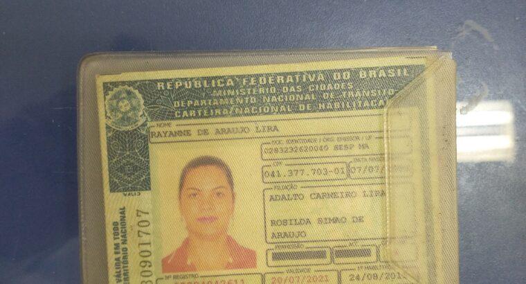 documento perdido (CNH)