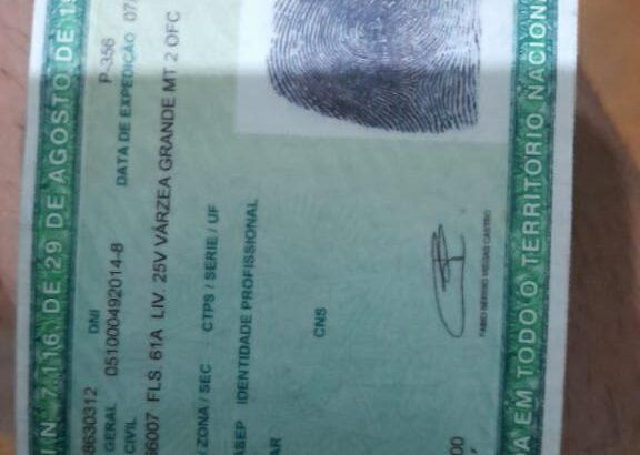 Mimha carteida e documentos Meu nome e Eurico Elia