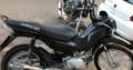 Moto furtada pop 100 preta