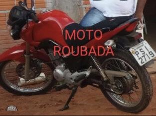Moto FAN 150 ROUBADA