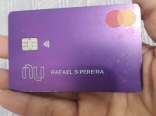 Cartão de Crédito encontrado