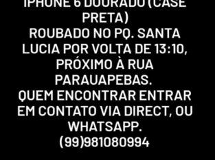 Iphone 6 roubado