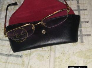 Óculos de grau (da Ray Ban) encontrado na Floriano
