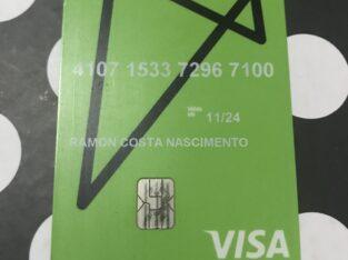 Cartão encontrado, na rua godofredo Viana, centro
